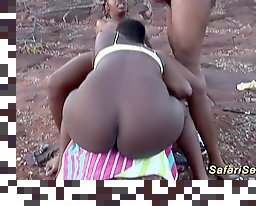 african amateur threesome